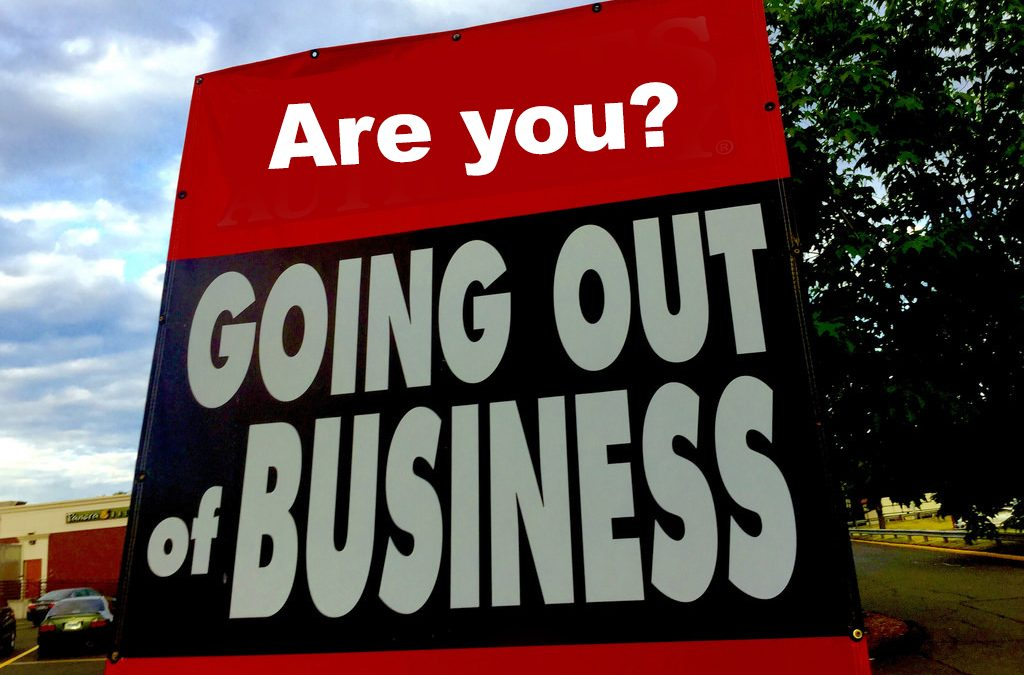"""Business turnaround"" the business of going out of business…"